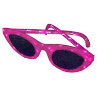 National Tree Company Pink Sunglasses with LED Lights