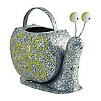 Boston International Snelly Snail Watering Can in Grey/Yellow