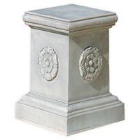 Design Toscano Rosette Plinth Base