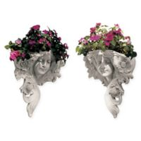 Design Toscano Printemps and Etoile Wall Planters (Set of 2)