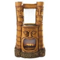 Design Toscano® Tiki Gods of Fire and Water Fountain