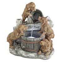 Design TOSCANO® Puppy Pail Pour Fountain