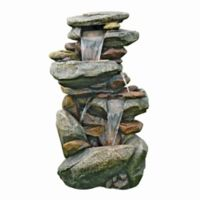 Design TOSCANO® Catherdral Rocks Cascading Fountain