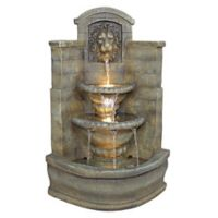 Design TOSCANO® Saint Remy Lion Corner Fountain