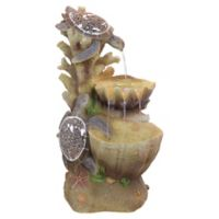 Design TOSCANO® Turtle Cove Cascading Sculptural Fountain