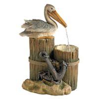Design TOSCANO® Pelican's Seashore Roost Fountain