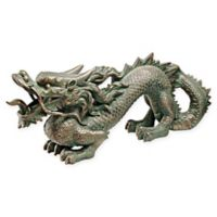 Design TOSCANO® Asian Dragon of the Great Wall Statue in Bronze