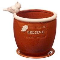 Precious Moments® Believe 4-Inch Flower Pot