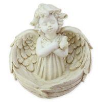 Northlight Cherub Angel Bird Feeder in White
