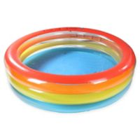 Pool Central Multi-Striped Translucent Wall Swimming Pool