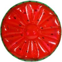 Pool Central 58-Inch Inflatable Watermelon Float in Green/Red