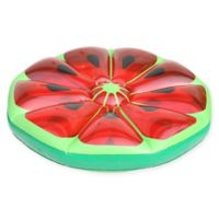 Pool Central 49-Inch Inflatable Watermelon Fruit Slice in Green
