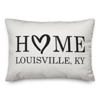 Designs Direct Home Heart Indoor/Outdoor Oblong Throw Pillow