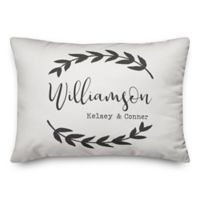 Designs Direct Floral Family Indoor/Outdoor Oblong Throw Pillow