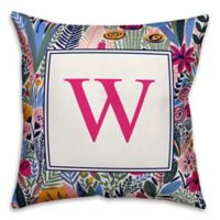 Designs Direct Funky Garden Indoor/Outdoor Square Throw Pillow