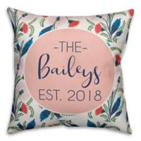 Designs Direct Wildflower Indoor/Outdoor Square Throw Pillow