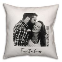 Designs Direct Photo Upload Indoor/Outdoor Square Pillow