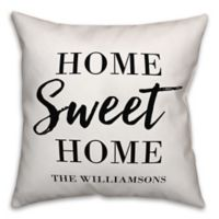 Designs Direct Home Sweet Home Indoor/Outdoor Square Pillow