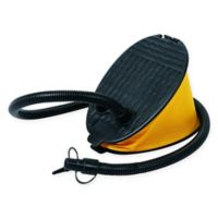 Pool Central Deluxe Bellow Foot Pump in Black