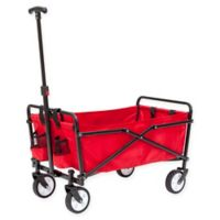 Seina Compact Collapsible Wagon in Red