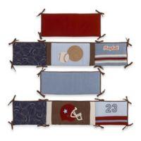 NoJo® Play Ball 4-Piece Reversible Crib Bumper