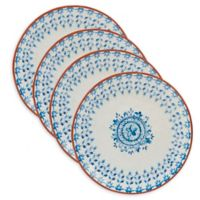 Certified International Porto® by Tre Sorelle Studios Dinner Plates in Blue (Set of 4)