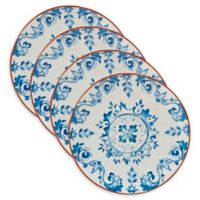Certified International Porto® by Tre Sorelle Studios Salad Plates in Blue (Set of 4)