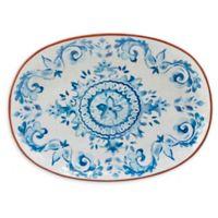 Certified International Porto® by Tre Sorelle Studios Oval Platter in Blue