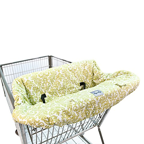 Itzy Ritzy® Ritzy Sitzy™ Shopping Cart & High Chair Cover in Avocado Damask