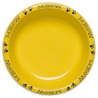 Fiesta® Medium Cat Bowl in Sunflower