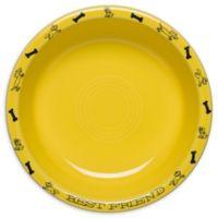 Fiesta® Medium Dog Bowl in Sunflower