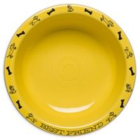 Fiesta® Large Dog Bowl in Sunflower