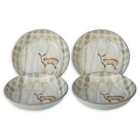 Certified International A Woodland Walk Soup Bowls (Set of 4)
