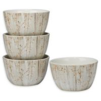 Certified International A Woodland Walk Ice Cream Bowls (Set of 4)