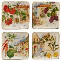 Certified International Piazzette Salad Plates (Set of 4)