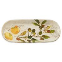 Certified International Piazzette Bread Tray