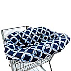 Itzy Ritzy® Ritzy Sitzy™ Shopping Cart & High Chair Cover in Social Circle Blue