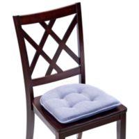 Klear Vu Tufted Saturn Gripper® Chair Pad in Wedgewood