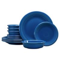 Fiesta® 12-Piece Classic Dinnerware Set in Lapis
