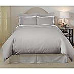 Pointehaven 620-Thread-Count King/California King Duvet Cover Set in Grey