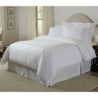 Pointehaven 300-Thread-Count Embroidered King/California King Duvet Cover Set in Ivory