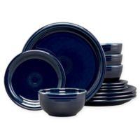 Fiesta® 12-Piece Bistro Dinnerware Set in Cobalt Blue