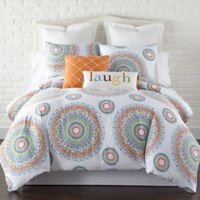 Levtex Home Gale Reversible Full/Queen Duvet Cover Set in Orange