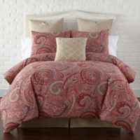 Levtex Home Avery Twin Duvet Cover Set in Red