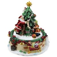 Northlight Animated Santa Claus Music Box