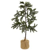 Nearly Natural 3-Foot Iced Pine Tree