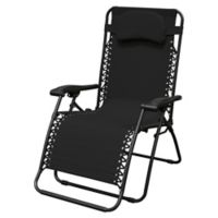 Caravan® Sports Oversize Zero Gravity Chair in Black