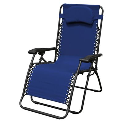 8eb54a71c8 Caravan® Sports Oversize Zero Gravity Chair in Blue