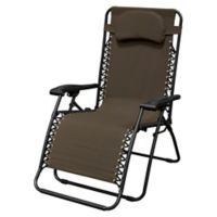 Caravan® Sports Oversize Zero Gravity Chair in Brown