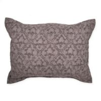 Wamsutta® Vintage Textured Jacquard King Pillow Sham in Eggplant